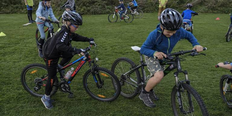 Mtb-route Lauwersoog: 'Een Coole Houding Fietst Beter'