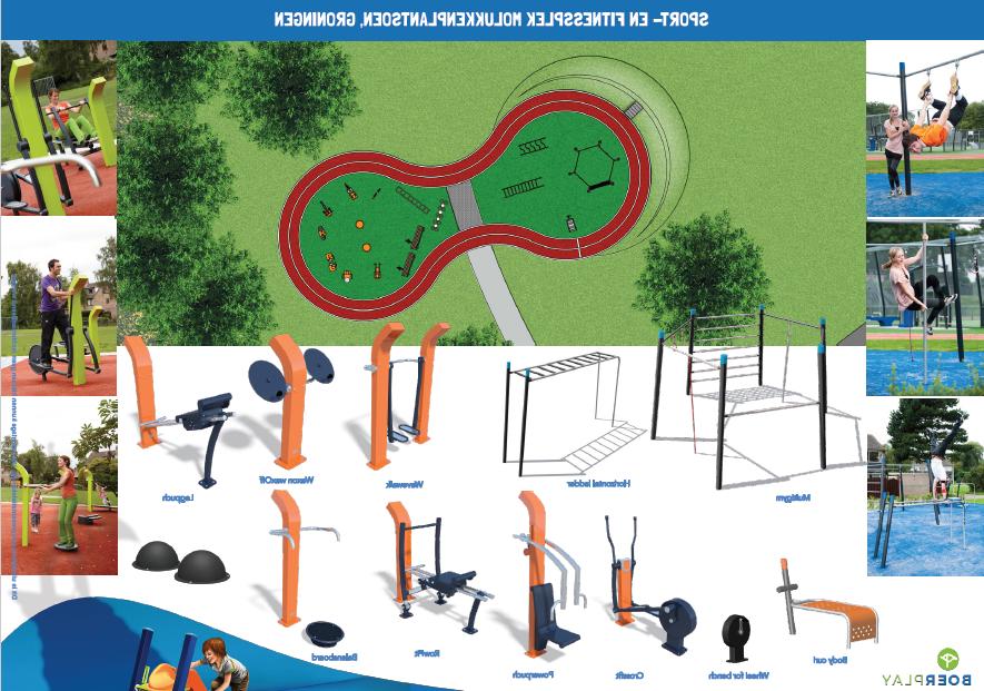 Nieuw Sport- En Fitnessparcours In Molukkenplantsoen