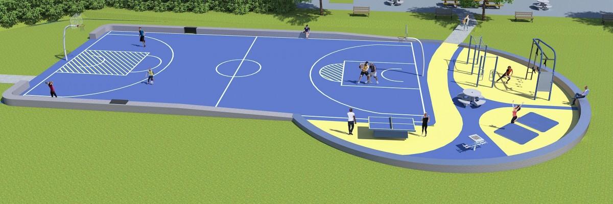 Nieuwe Openbare Sport- En Beweegplek Voor Laanhuizen En Grunobuurt