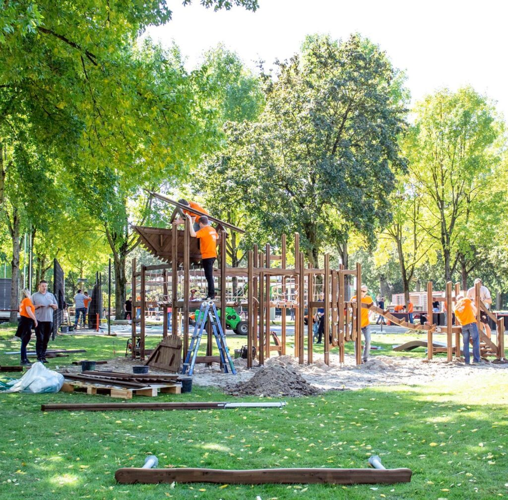 Playground in One Day, Enschede